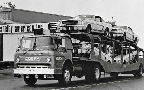 clynshaw:  Shelby GT350 delivery, 1966!  pls come to me bbs