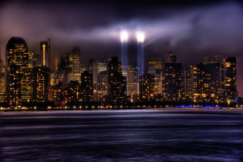 Tribute in Light: Following the attacks of September 11th, the skyline of New York has been lit up on every anniversary since with 88 searchlights to mark where the Twin Towers used to stand. Today, on the 10th anniversary, the lights will be turned on for the last time.