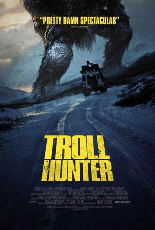 REVIEW: TROLL HUNTER Its existence has been known in the UK for just under a year now and with an imminent, albeit it, limited release, we can finally bear witness to one of the most intriguing films currently out there.Cinema has seen its fair share of 'found-footage' movies over the years, stemming from the iconic, micro-budgeted, The Blair Witch Project way back in '99. Its massive success inevitably spawned a host of imitators, with successes that include [REC] and Paranormal Activity (along with their respective sequels), which prove the genre still has potential. Read full review here.
