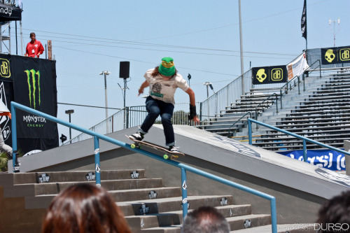 Marisa Dal Santo: 50-50 at Maloof Money Cup OC 2010