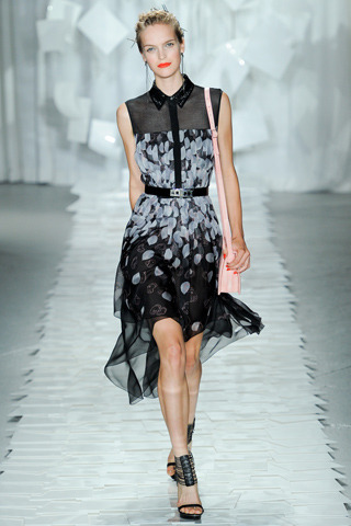 Jason Wu RTW Spring 2012 Model: Mirte Maas   Photo via Style.com