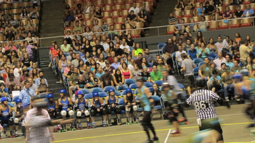 whatiseenashville:  Just a reminder, The Nashville Rollergirls' last home bout is Saturday night. Roller Derby is a blast to see live (the $9 beers suck)  Anyone in the Nashville area should check these ladies out at Municipal! Last chance to watch some badasses on skates!!!