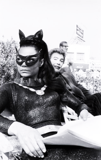 vintagegal:  Eartha Kitt as Catwoman on the Batman TV series 1960's