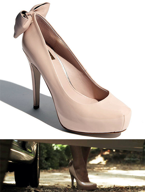 When Emily's cute pumps got some air time It was like a message from the PLL people, telling me to find them for the awesome viewers. Here they are.  Dolce Vita - Briar Pump - $89.95