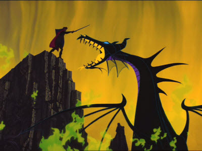 """Philip Vs. Maleficent,"" from Disney's Sleeping Beauty."