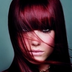 jopaluvzflowerz:  Burgundy hair  i am going to attempt this color