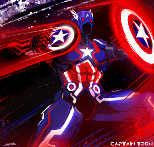 herochan:  Captain TRON - by Kazeco Blog | CGHUB (Via: cravingformyfate)