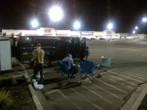 WalMart Campgrounds. (Photo by mikecondition)