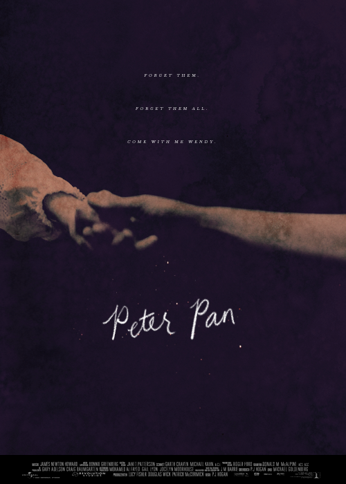jonquille:  Poster Re-Make Meme: Peter Pan (2003) (requested by sendmedaughters)