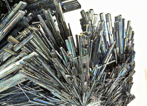 Stibnite from Romania