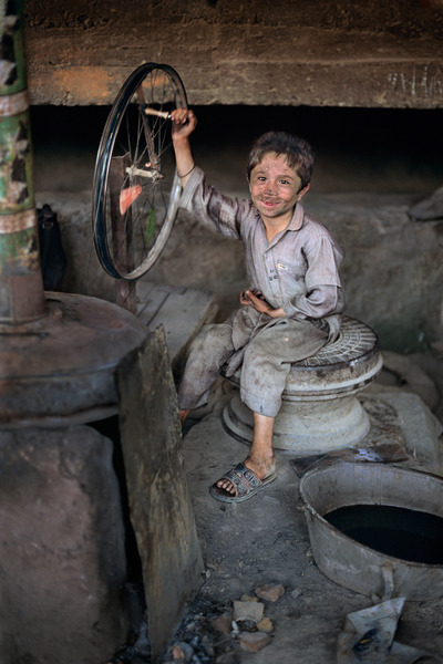 """Child labor and poverty  are inevitably bound together,  and if you continue to use the labor of  children as the treatment for the social disease of poverty, you will  have both poverty and child labor to the end of time."" -  Grace Abbott"