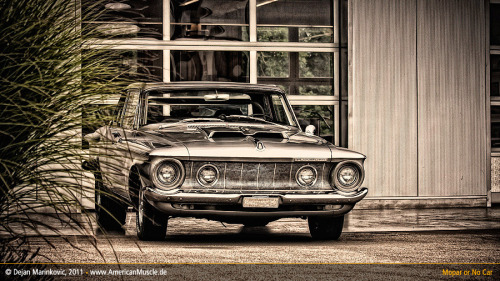 MOPAR MONDAY retrocurrently:  Max Wedge Belvedere by ~AmericanMuscle Ok.. I will try not to cry now.