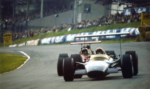 Jo Siffert at the 1968 British Grand Prix