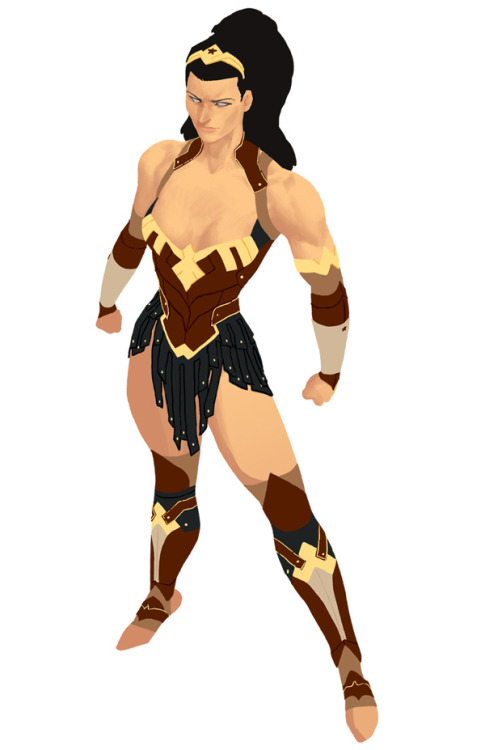 dcuniversepresents:  Kris Anka's Wonder Woman! Project : Rooftop (Superheroes Redesigned)