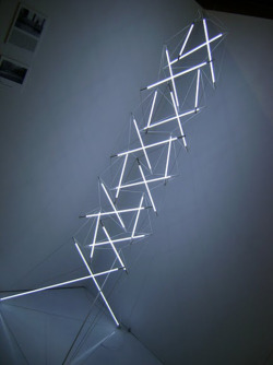 Michal Bartosik's seven-foot-tall floor light sculpture—which is nearing production—is expected to retail for $1500. Read more: http://www.dwell.com/slideshows/ids-toronto-2011.html?slide=15&c=y&paused=true#ixzz1XYLfZmKC