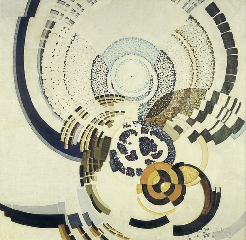 Painting by Frantisek Kupka.