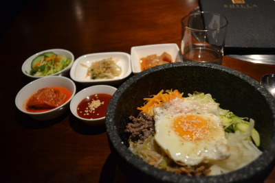 tumbleweedingalong:  Bibimbap from Shilla in East Perth, Australia