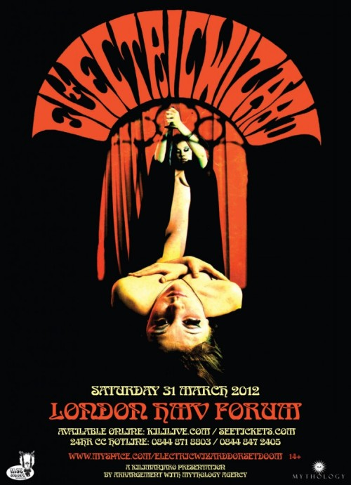 Electric Wizard, without a doubt, have the best flyers.