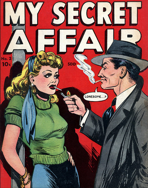 comicallyvintage:  Lonesome?