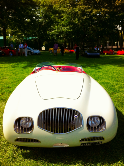 amyblogschow:  One day, Lancia Aprilia, one day. (Cars on display at Saratoga Performing Arts Center.)