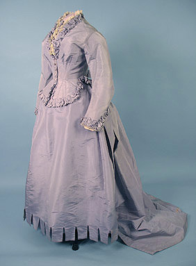 Visiting dress, ca 1870 France