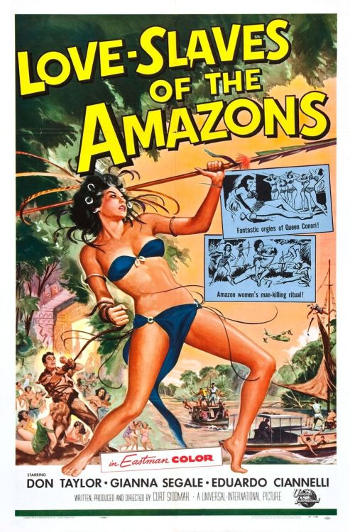 Love Slaves of the Amazons (1957)