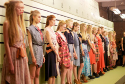calivintage:  the lineup. gretchen jones spring 2012. by calivintage.