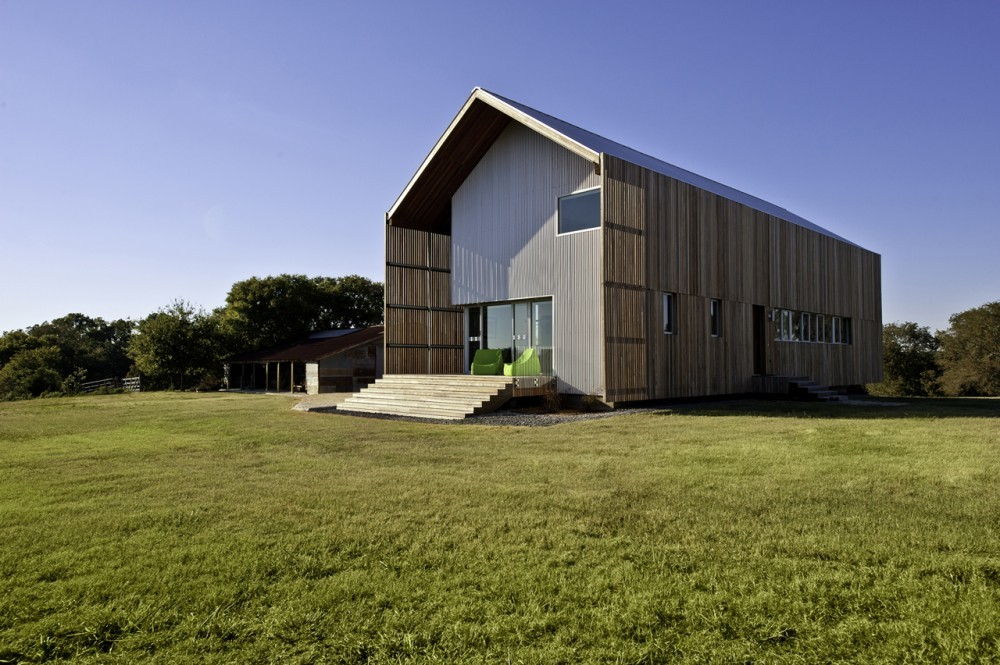 Barndominium: Green Live-Work Space is a Modern Update to the Vernacular Barn | Inhabitat - Green Design Will Save the World