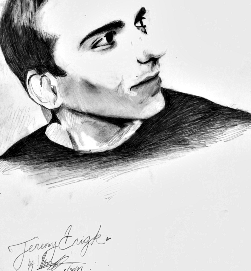 prettyrainbow:  I love jeremy enigk so much, I had to sketch  a picture of him. I hope he sees this.