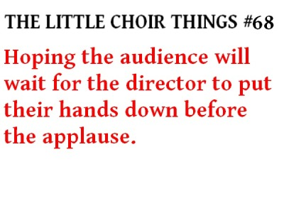 Love this blog. Choir dorks ftw.