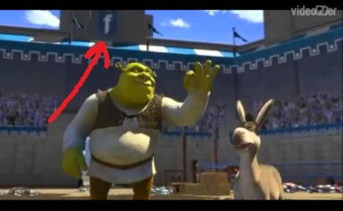 I never noticed this in Shrek…
