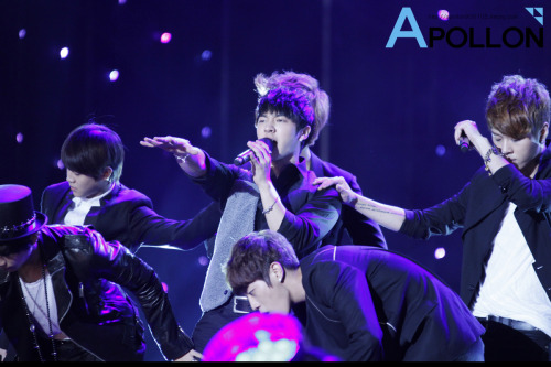 110908 BEAST @ KBS Invincible Baseball Concert  【CREDIT : APOLLON 】