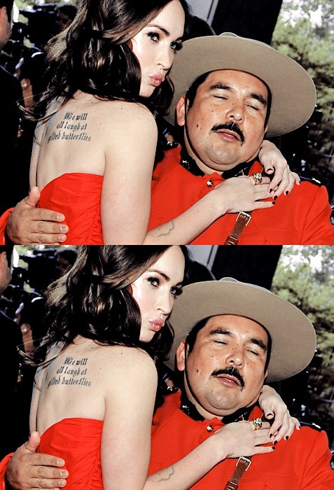 WTF hahahah Megan Fox and a Mariachi .. what is that ??' hahha mmdfx:  Hahahahaha, DEAD!