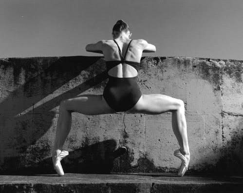 whatstheenpointe:  Her kind of barre.