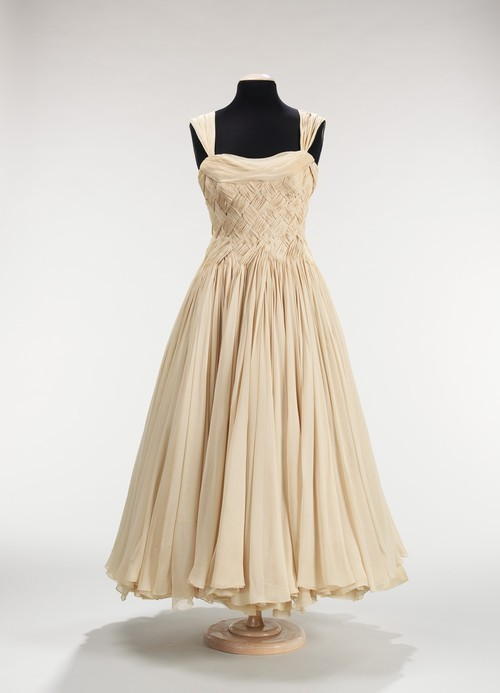 Jean Dessès dress ca. 1955 via The Costume Institute of the Metropolitan Museum of Art