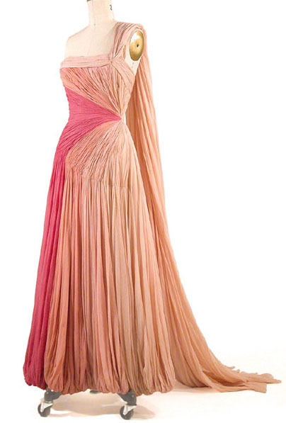 omgthatdress:  1950s Jean Dessès dress via Antique Dress
