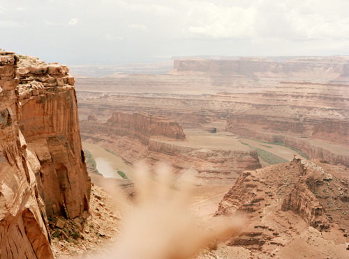 danielseunglee:  Self Portrait at Dead Horse Point State Park, Utah
