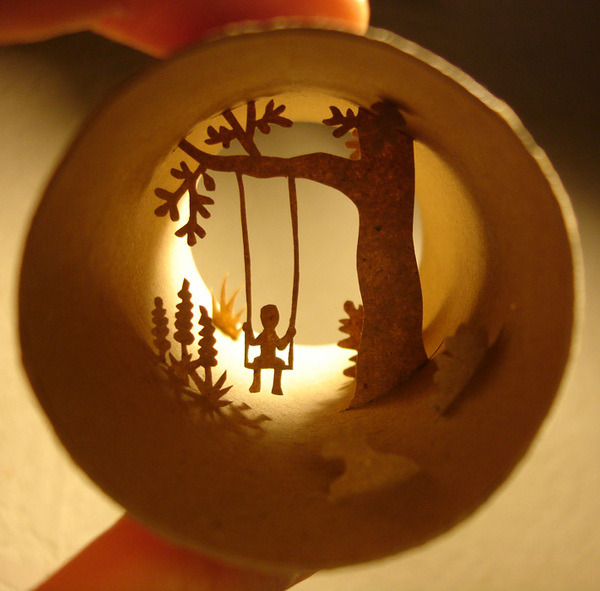 Here some more: http://www.behance.net/Gallery/Paper-cuts-Rolls/241623