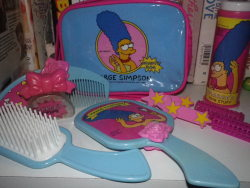 marge simpson my stuff Marge Simpson Beauty Bag