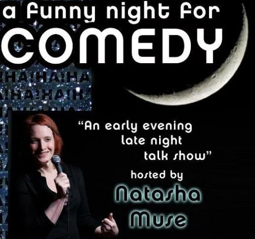 9/11. A Funny Night For Comedy w/ Alex Koll @ Actor's Theater. 855 Bush St., SF $10. 7 pm. Feat Chris Burns, Trevor Hill and sketches by Femikaze. More Information below: The September 11th show features Stand-up comedy and interviews with:  Alex Koll, Chris Burns, Trevor Hill and sketches with Femikaze!!! $10 Buy Tickets Here: http://www.brownpaperticke ts.com/event/194666 Actors Theatre of San Francisco 855 Bush Street SF CA 94108 415-345-1287 Join Host Natasha Muse and her side-kick ??  ( Ryan Cronin will be gone  for the month!! Who will fill his Seat??)  as they welcome a variety of  stand-up comedians to the stage, and then ask them a variety of strange  questions. It's like a late-night talk show, except it's in the  early-evening. and it's not on television. And it's funny. With Brian Fields on the signs! The show will be followed by A Funny Night for Improv: an improv jam starting at 9pm. If you come for the comedy show stay for the improv for free.(Via Facebook)