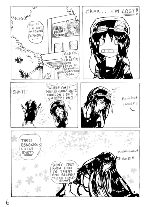 END OF THE LINE PG 6 by =Biyu-Chan
