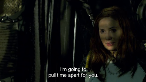 """I'm going to pull time apart for you"" will be the most romantic thing anyone can ever say to me."