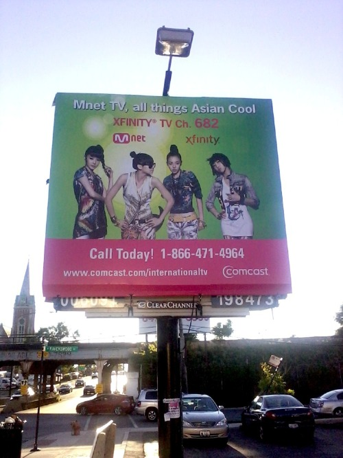 smallaznmouse:  ralphietran:  2NE1 billboard in chicagooooo(:  WHY DON'T I HAVE CABLE? :'(  All things….asian…cool? Buaha