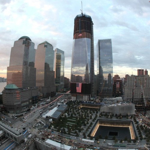 Sunset at Ground Zero
