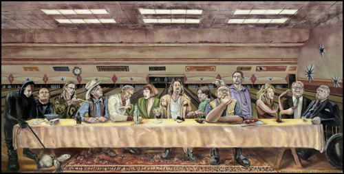 izzyb412:  The Big Lebowski Last Supper