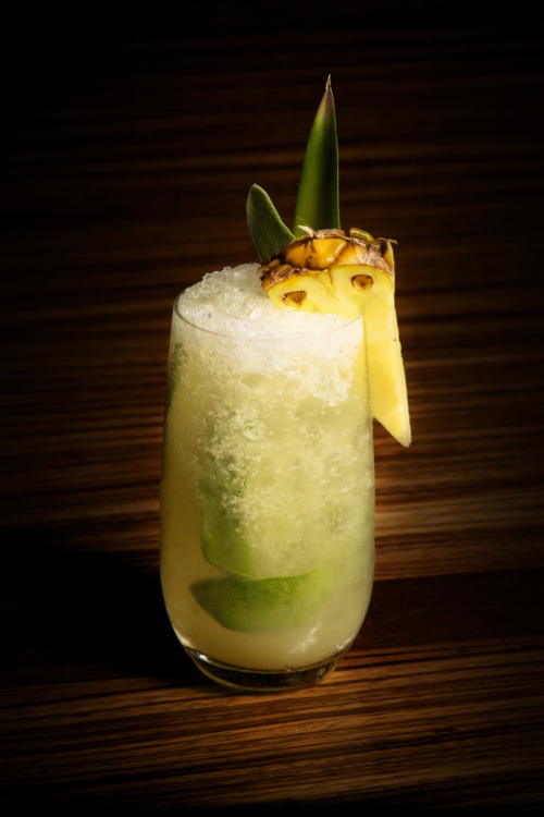 Pineapple Mojito Beso at Crystals inside City Center, Las Vegas. Photo: Carlos Larios