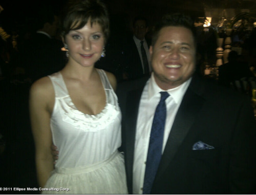Degrassi Takes the Emmys! Jordy with Chaz Bono