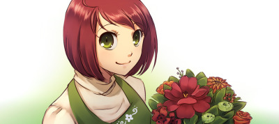 And the last picture of the night! Natalie from The Flower Shop: Winter in Fairbrook, that should be out sometime soon =D