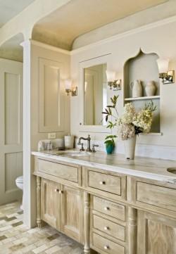 (via Derby Hill Farm Lyme NH - traditional - bathroom - burlington - by Smith & Vansant Architects PC)