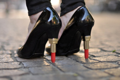 Lipstick Pumps